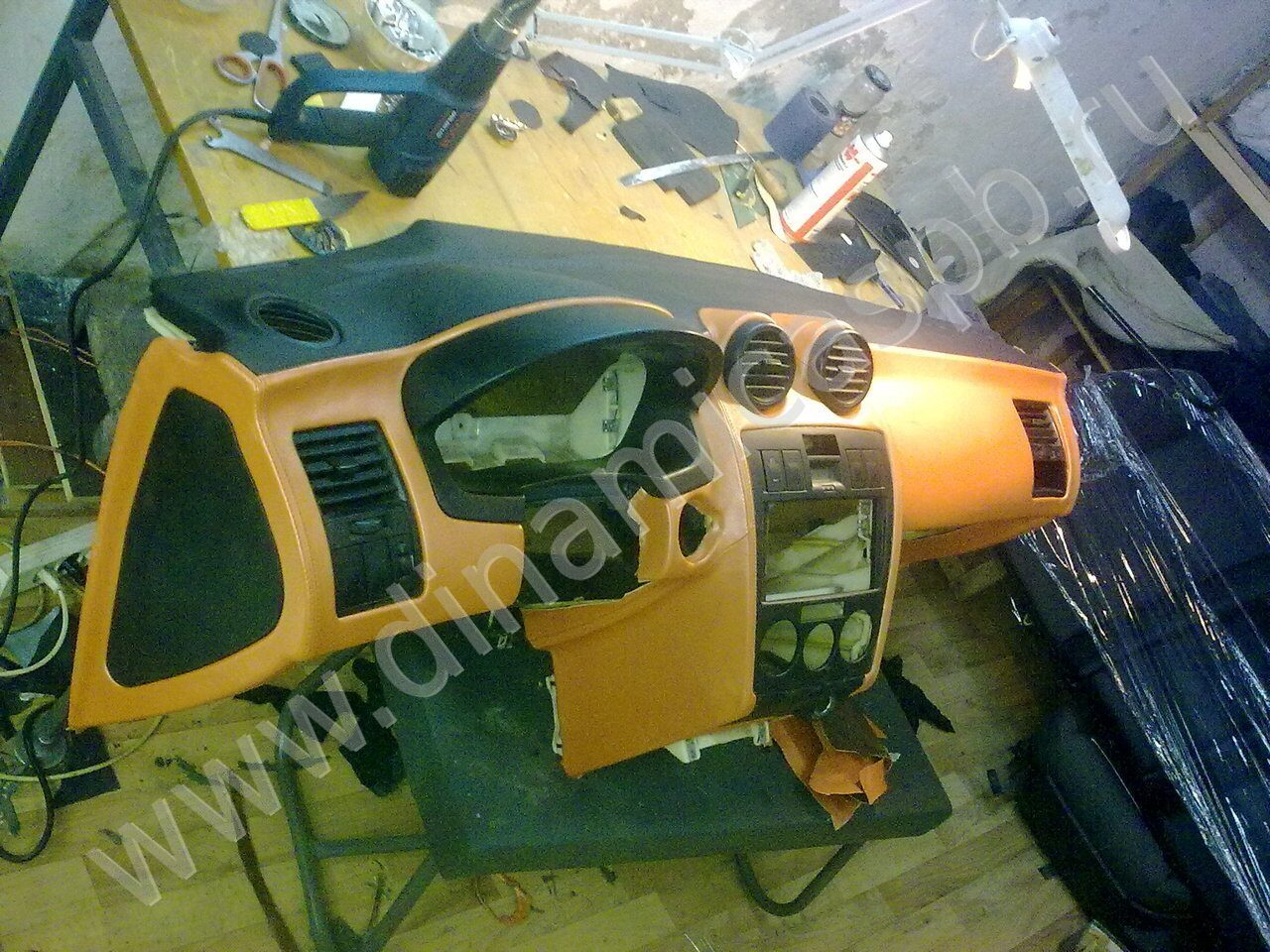 Ремонт торпеды автомобиля своими руками ваз 2110 45